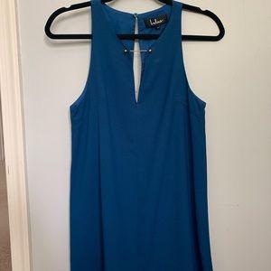 Lulus blue dress